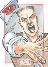 Marvel 75th Anniversary SketchaFEX J. Jonah Jameson Eliseu Gouveia Sketch Card!