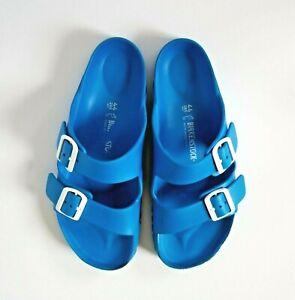 BIRKENSTOCK Men's Arizona Essentials EVA Sandals Blue White EU 44 US 11 11.5