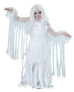 Ghostly Girl Child Costume, Medium, Ghost, Ghoul, Spirit California Costumes