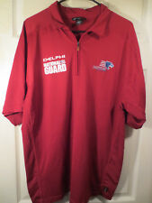 North End Sport PANTHER RACING Red Polo Shirt Indy Car Auto JR Size Large