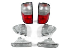 USA 95-97 TOYOTA TACOMA 4WD RED/CLEAR TAIL LIGHTS + CORNER LIGHT + BUMPER LIGHTS