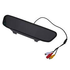 """4.3"""" LCD TFT Display Monitor Innenspiegel Rückspiegel AUTO KFZ DVD AV H3L9"""