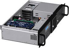 "2U (300W PSU)(Fan LCD) ITX (2x5.25""+6xHDDs)(Rackmount Chassis)(D:9.84"" Case) NEW"