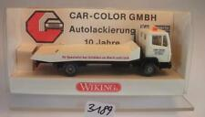 Wiking 1/87 Mercedes Benz 814 Abschleppwagen Car Color Werbemodell in Box #3189