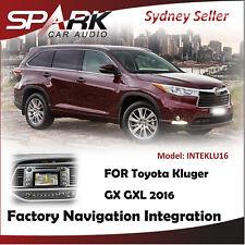 FACTORY NAVIGATION GPS SAT NAV INTEGRATION SYSTEM FOR TOYOTA KLUGER GX GXL 2016