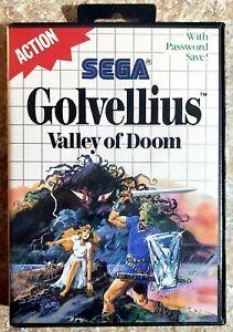Golvellius: Valley of Doom (Sega Master, 1988) *CIB* *TESTED & WORKING*