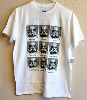Disney Parks Star Wars Galaxy's Edge Stormtrooper Emotions YOUTH XL Kids