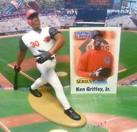 2000  KEN GRIFFEY Jr. - Starting Lineup - SLU - Figure & Card - CINCINNATI REDS