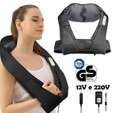 Massaggiatore Elettrico Riscaldante Massaggio Cervicale Spalle Gambe 220V / 12V