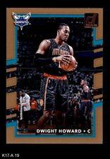 2017 Donruss #19 Dwight Howard Hornets 8 - Nm/Mt