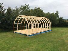 Glamping Pod Frame, Garden  Office,  Self Build Kit -  6.0m (L)  x  3.95m (W)