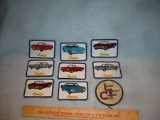 new corvair sew on clothing patches lehigh valley corvair club corsair monza
