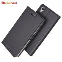 Magnetic PU Leather Flip Case Shockproof Cover for Sony Xperia X Performance