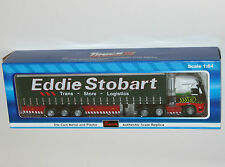 Saico - ' Eddie Stobart ' Curtainside Truck Lorry - Model Scale 1:64