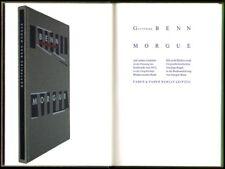 Gottfried Benn morgue de Ingo regla farbholzschnitt vorzugsausgabe 1993