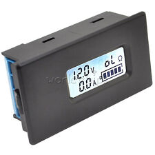 Li-ion Lithium Battery Tester LCD Meter Kit Voltage Current Capacity 18650 26650