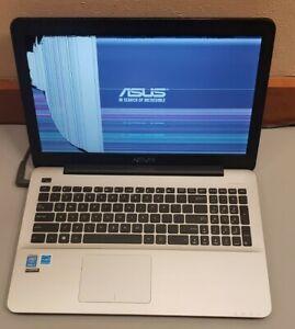 Used ASUS X555L Intel Core i3-5020U 4RAM 0GB HDD PARTS CRACKED SCREEN