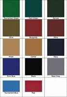 New Pro Form Worsted Pool Table Cloth for 9ft Table - High Speed Billiard Felt