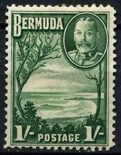 Bermuda 1936 SG#105, 1s Green KGV MH #D42386