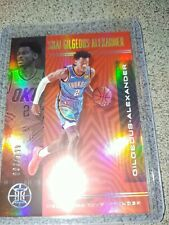 2019-20 panini Illusions Shai Gilgeous-Alexander 093/199 ruby red parallel #96