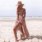 Women Maxi Vintage Floral Long Boho Sundress Summer Beach Party Evening Dresses