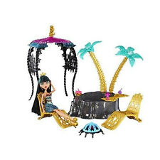 NEW BOXED Mattel Monster High 13 Wishes Oasis Playset & CLEO Doll