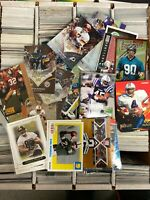 HUGE Lot of 3200 count box of All Inserts & Rookie Football Cards Liquidation
