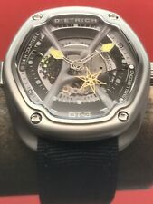 Dietrich OT-3 Organic Time Automatic 46mm Stainless Steel Skeleton