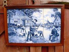 Vintage Tiled picture Dutch