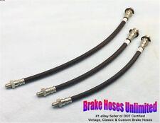 BRAKE HOSE SET Willys DJ3A Dispatcher 1955 1956 1957 1958 1959 1960
