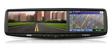 Pyle PLCMDVR7G Rear View Mirror Dash Camera System Bluetooth Handsfree GPS DVR