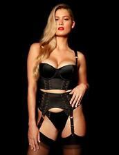Honey Birdette Ivory Sienna Bra 12c / 34c Brief S & Suspender M