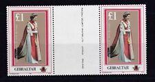 Gibraltar 1986 postfrisch Stegpaare MiNr. 511
