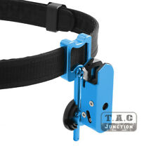 IPSC USPSA IDPA Aluminum  Speed Race Master Pistol Holster for Glock - Blue