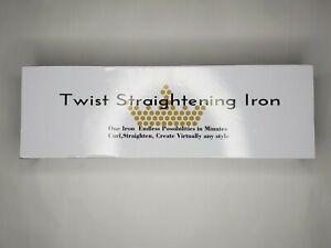 Revolution Twist Straightening Iron (New/Open Box)