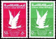 Syrien Syria 1963 ** Mi.835/36 Revolution Adler Eagle