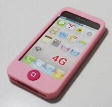 Soft Silicone Case For Apple iPhone 4 4S(P/R)