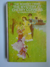 The Bobbsey Twins #20, Mystery At Cherry Corners, Picture Cover, 1971
