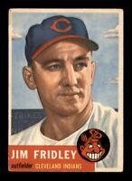 1953 Topps Set Break # 187 Jim Fridley VG *OBGcards*