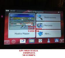 """USATO NAVIGATORE 7"""" PER CAMION TRUCK MAPPA ITALIA 8 GB- AGGIORNATO A 05/2018"""