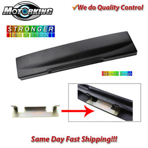 Tailgate License Plate Shield Handle 02-05 for Ford Explorer Non Painted Black