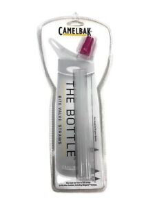 Camelbak The Bottle Replacement Straws With Pink Bite Valve