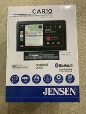Jensen CAR10 10-inch Capacitive LCD Digital Multimedia Adjustable Touch Screen