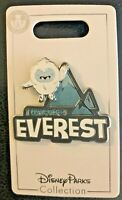 "💙 Exclusive Disney Parks ""I Conquered Everest"" Yeti Pin - Expedition Everest 💙"