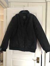 Mens Black Warm Jacket Size L