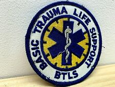 EMS EMT First Responder BTLS Patch Paramedic Police Emergency Embroidery