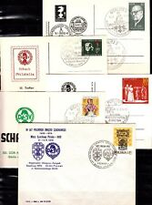 DDR usw ,  Schach, Lot / Posten, Belege mit Schachstempeln. Siehe Bild