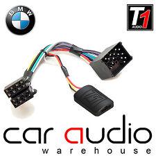 T1-Audio BMW 3 5 7 Series X5 Mini Steering Wheel Interface Adaptor FREE PATCH