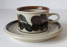 ARABIA OF FINLAND Ulla Procopé, Vintage Rosmarin Espresso/Mocca Cup & Saucer
