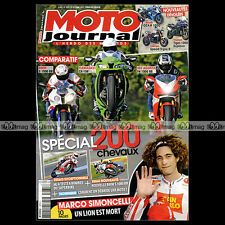 MOTO JOURNAL N°1975 BMW S 1000 RR R 1150 GS KAWASAKI ZX-10R MV AGUSTA F4 RR 2011